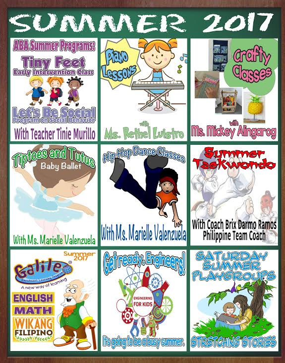 Summer Manila For Kids
