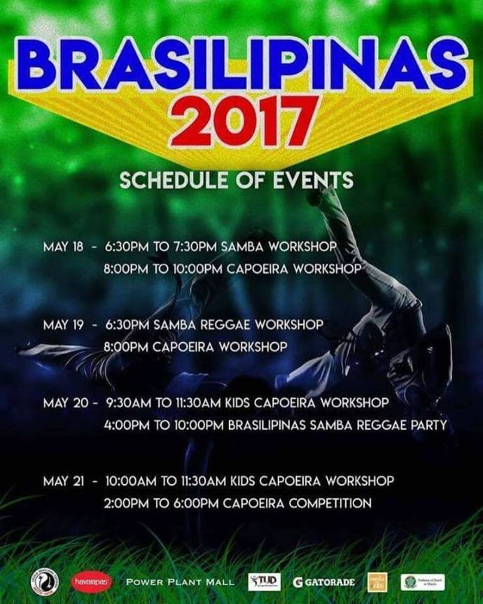 Brasilipinas & Capoeira Manila For Kids