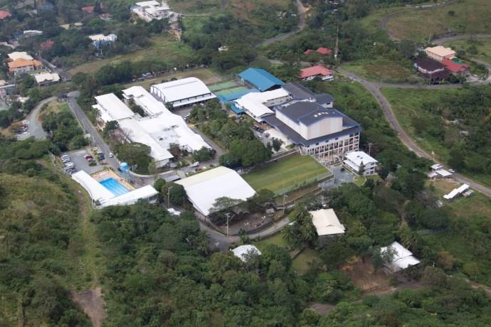 Faith Academy aerial view