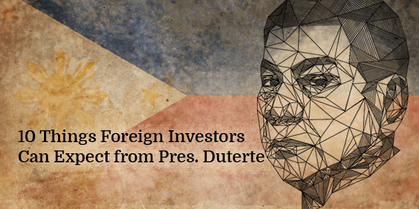 10 Things Foreign Investors Can Expect from Pres. Duterte Blog banner