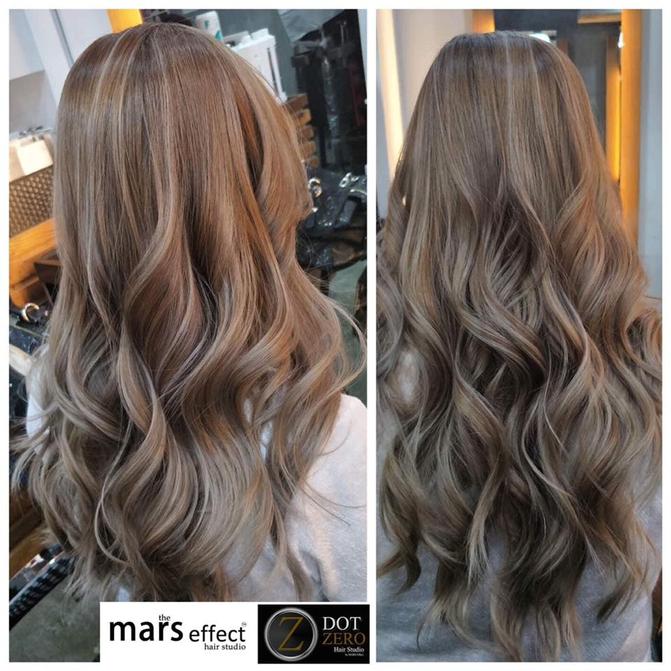 Best Balayage in Alabang, hair color in alabang