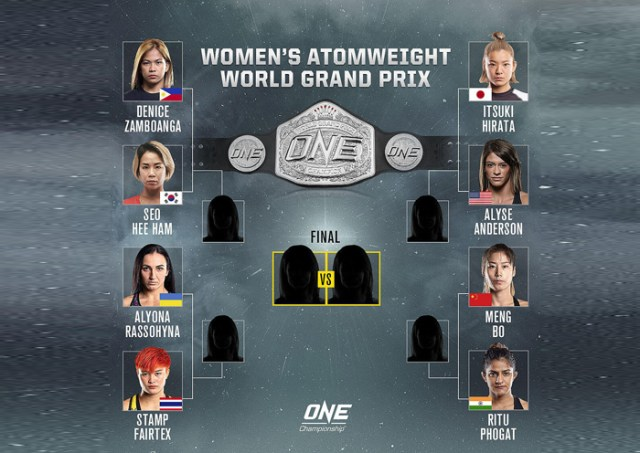 Xiong-Nicolini headlines all-female ONE card on May 28