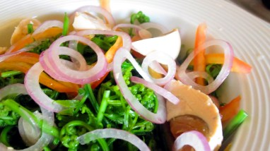 fern salad Batanes-style