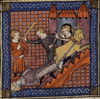 the martyrdom of St Sernin depicted in art