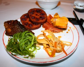 appetizers at Shanghai restaurant