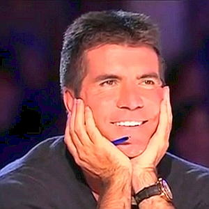 Image result for simon cowell reaction to susan boyle