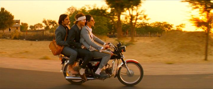 Still from THE DARJEELING LIMITED
