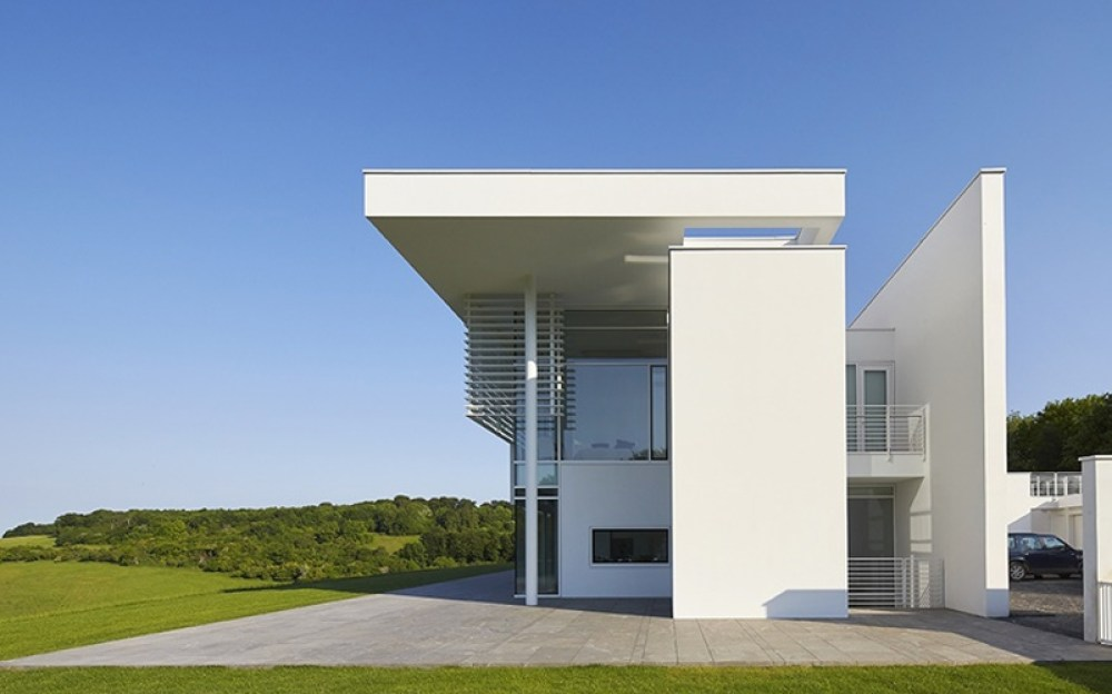 Minimal - Richard Meier Home photographed by Simon Upton