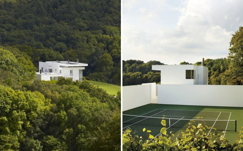 Minimal - Richard Meier Home photographed by Simon Upton & Hufton + Crow