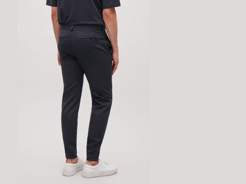 Cos Stores Tapered Fit Jersey Trousers | Image Courtesy of Cos