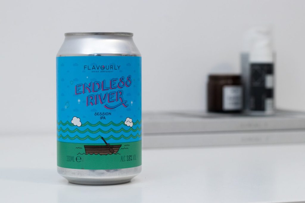 Flavourly Endless River Session IPA | Photo Credit Shaun Donnelly @ MANimalist