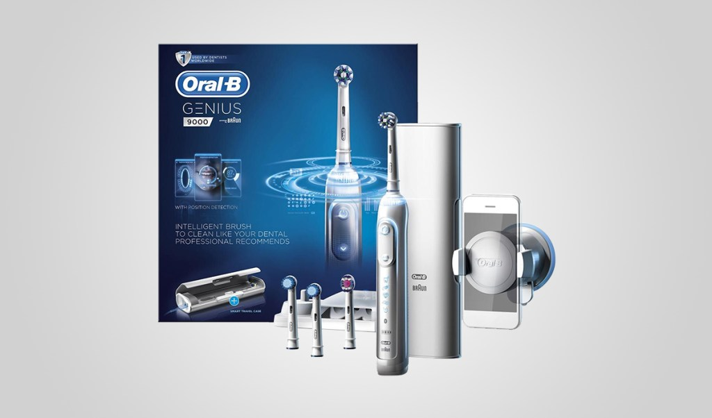 Oral B Genius 9000 | Men's Grooming Wishlist