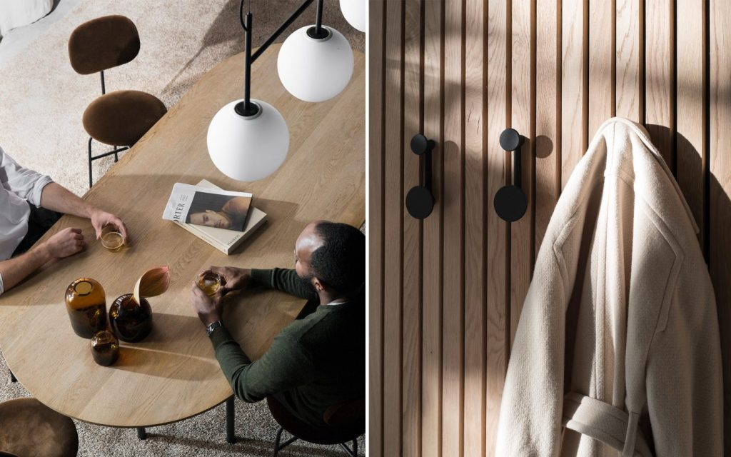Connected Spaces by Menu | Afteroom Coat Hangers