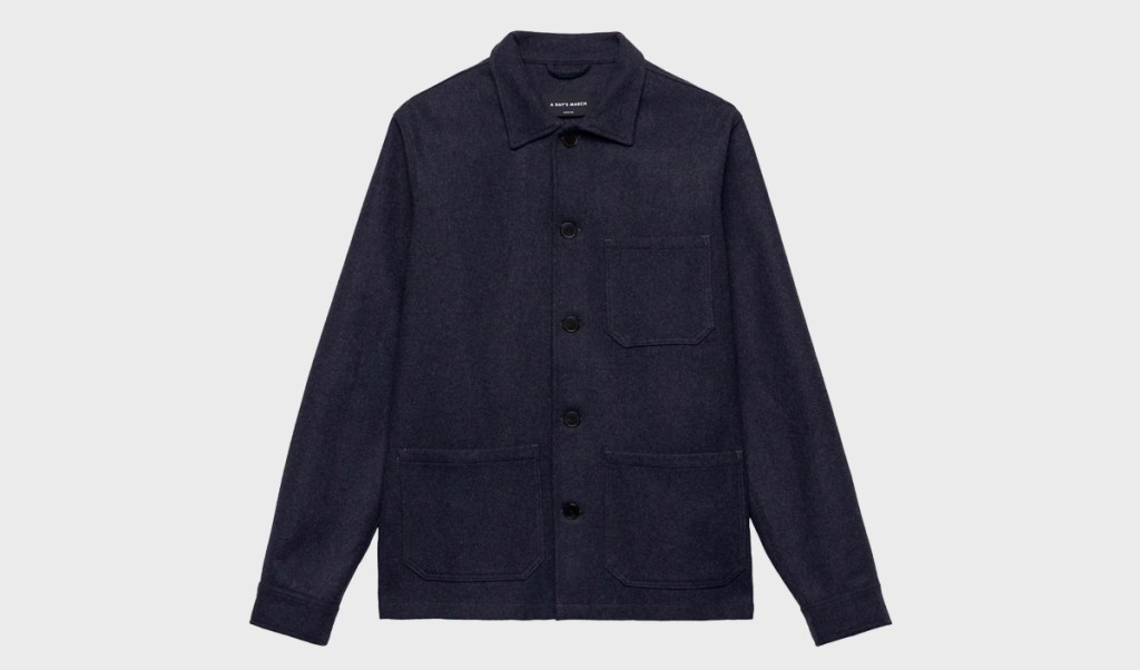 A Days March Wool Melange Overshirt | MANimalist Blog