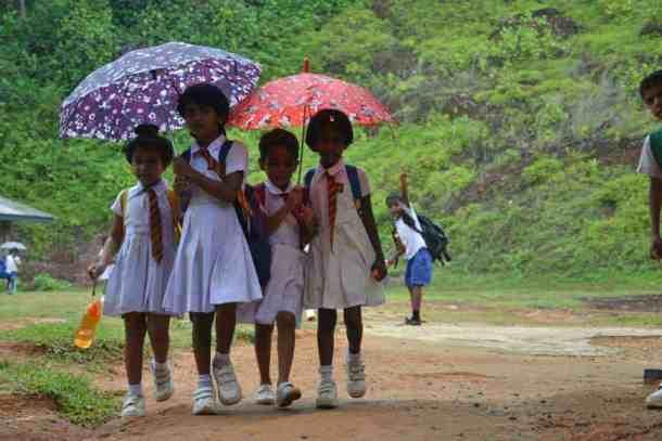 Schools kids in Plantation Villa Resort in Kalutara-Sri Lanka. maninio.com #resortsrilanka #villaresort