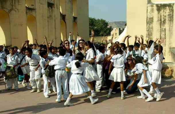 Rajasthan (Jaipur), School kids. maninio.com #Rajastanjaipur #Agradelhi