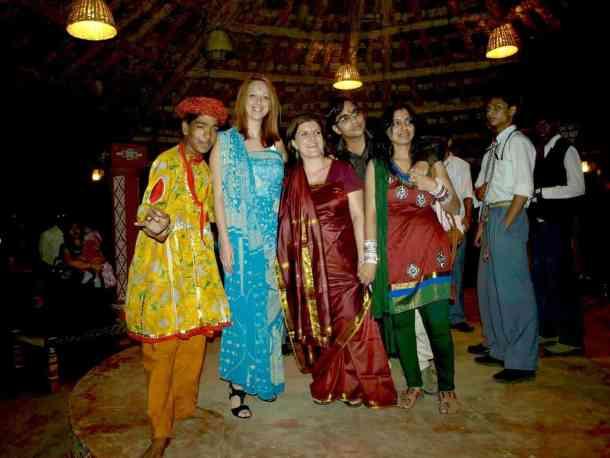 Rajasthan (Jaipur), Chokni Dhani celebration day. maninio.com #Rajastanjaipur #Agradelhi