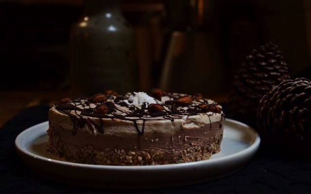 Chocolate / Coffee Cheesecake – Vegan, No Bake