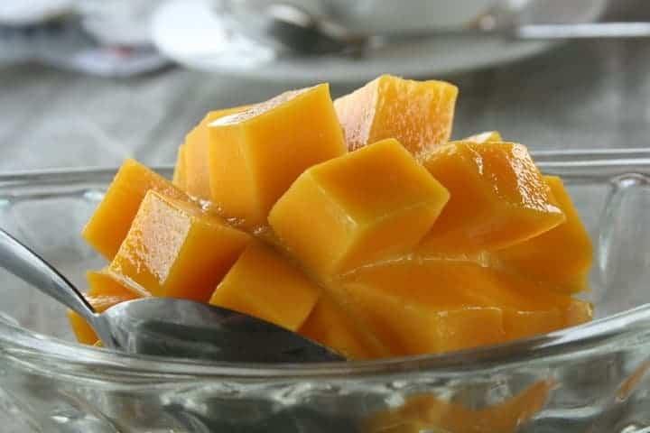 In Love with mangos in Camiguin Island, Philippines. maninio.com #tourismphilippines #visitcamiguin