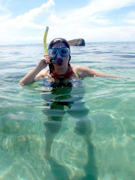 Snorkelling on the sea Initao beach, Cebu, Iligan city - Philippines #snorkellinginthesea #Philippinesasia | maninio.com