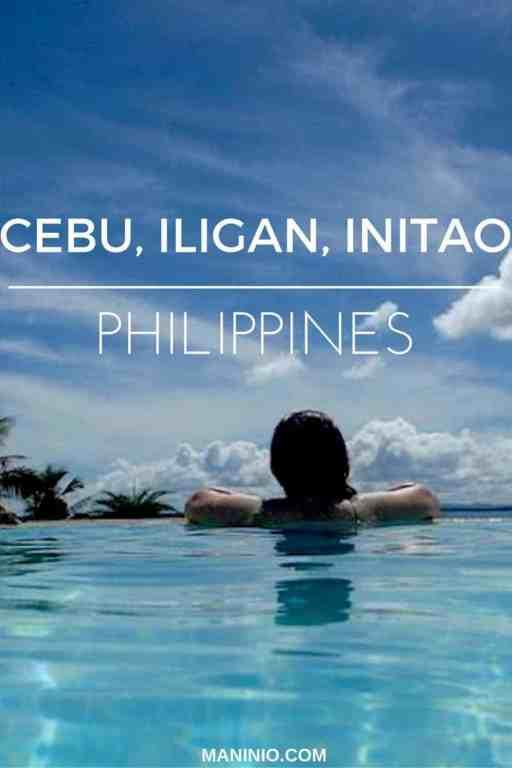 Cebu - Iligan - Initao - maninio - Philippines