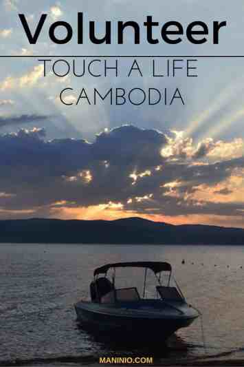 Volunteer in Cambodia - Siem Reap - touch a life - #volunteerinasia #volunteerincambodia maninio.com