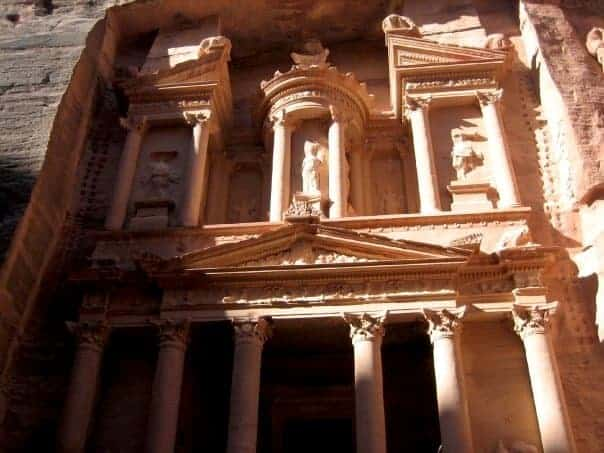 Treasury - Petra - travel