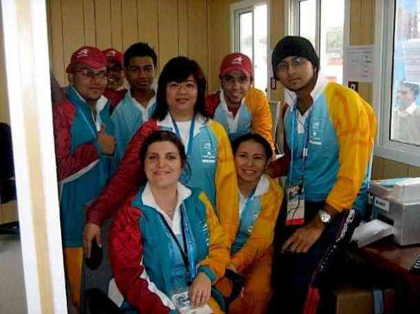 Ticketing Department in Doha Asian Games. maninio.com #qatardohaasiangames #Eidcelebrations