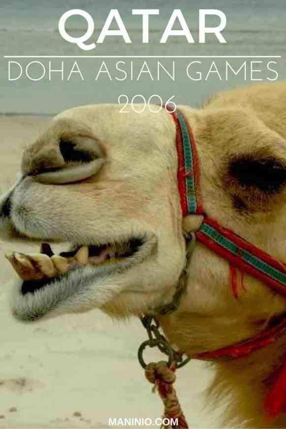 Qatar - doha - asian - maninio - games