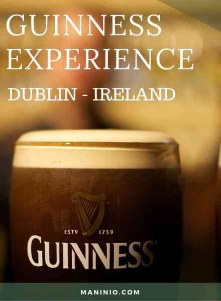 Guinness -Experience - maninio.com - dublin - ireland #guinnessexperience #guinnessireland