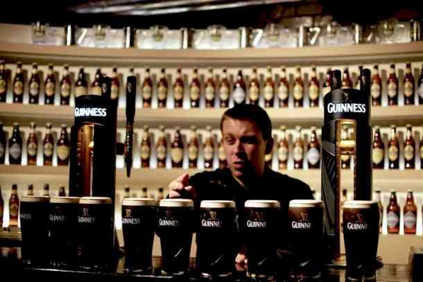 Guiness beer academy, Dublin. maninio.com #guinnessexperience #guinnessireland