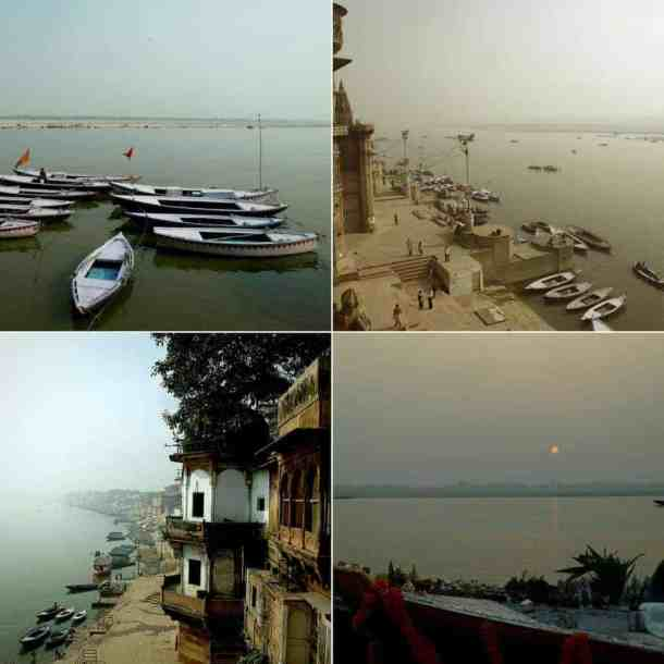 Varanasi (India): Between life & death. view from our room. Best Things to Do