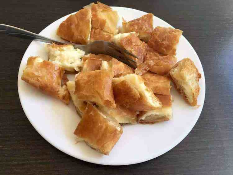 things to know before your visit in Greece, cheese pie maninio.com, #greekpies #greekforeigners