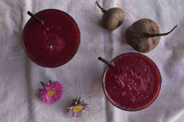 Beetroot - Banana - Cucumber - www.manino.com - Green- Apple - Smoothie