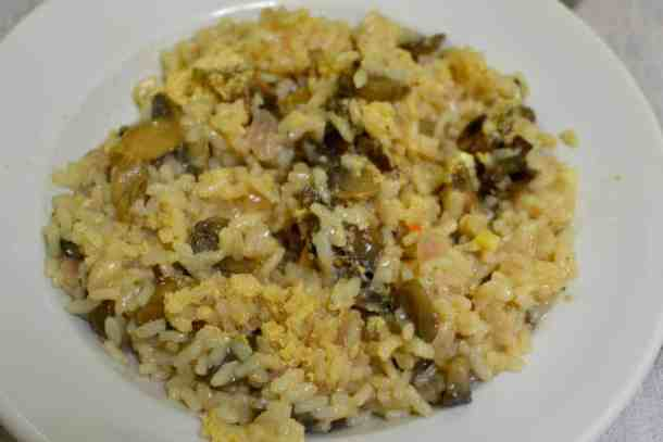 Best 20+ New Year's Menu Ideas | Lunch and Dinner | Vegan. risotto with mushrooms. maninio.com
