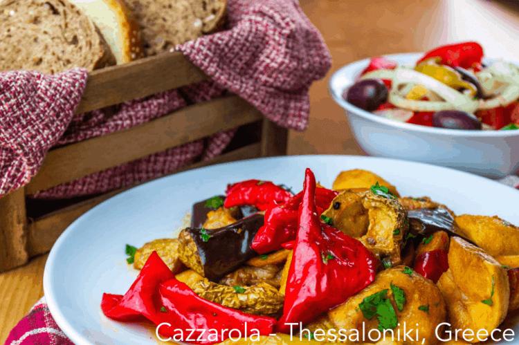 vegan delivery in Cazzarola Thessaloniki #veganrestaurants #greekvegan maninio.com