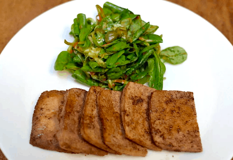 Best 20+ New Year's Menu Ideas  | Lunch and Dinner | Vegan. baked tofu. maninio.com