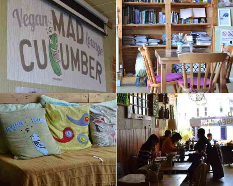 The mad cucumber- Eat as Vegan in Bournemouth - Top 5 awesome restaurants. maninio.com