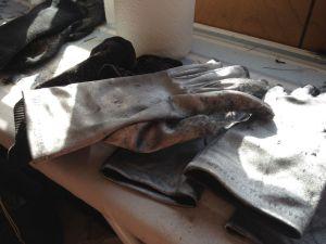 Metallic Gloves