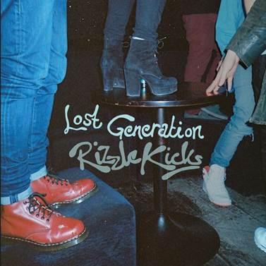 Lost Generation Rizzle Kicks Single Cover Artwork