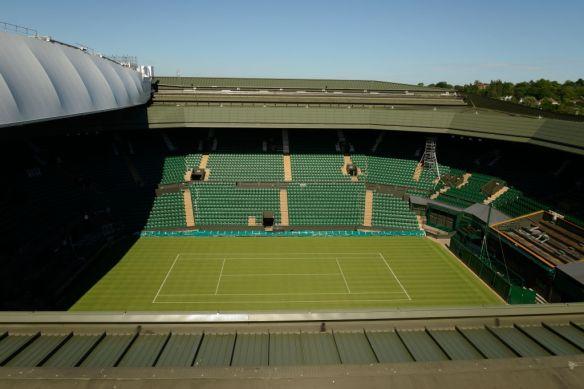 View from Wimbledon Tennis Roof Robotic Camera