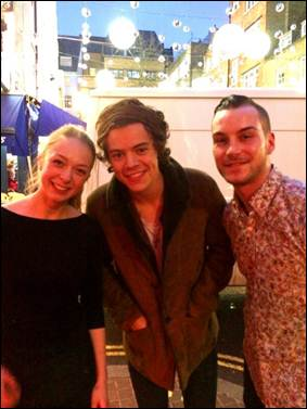 Harry Styles at St Cristopher's Place