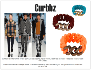 Curbbz – bracelets for on trend fashion enthusiasts