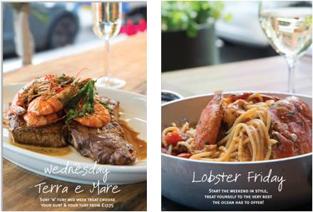 Lobster Fridays and Surf n Turf at Pescatori