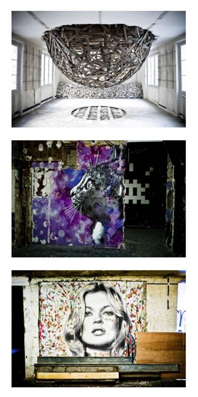 ''Les Bains' project in Paris curated by Magda Danysz and inspiring the London Project Photos courtesy Stephane Bisseuil
