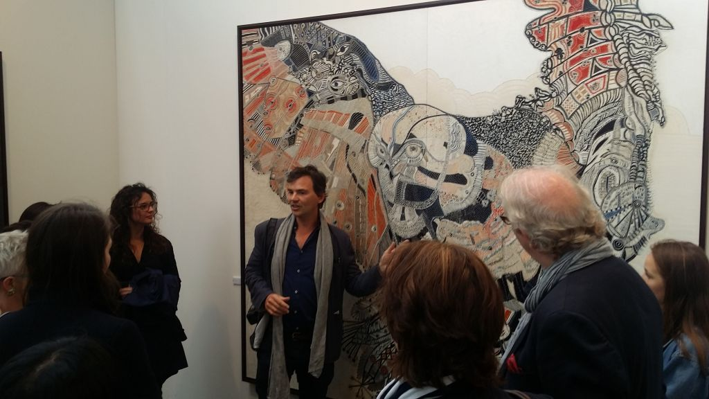 Joshua Yeldham at Art 15 London