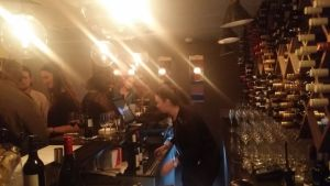 a busy night at 68