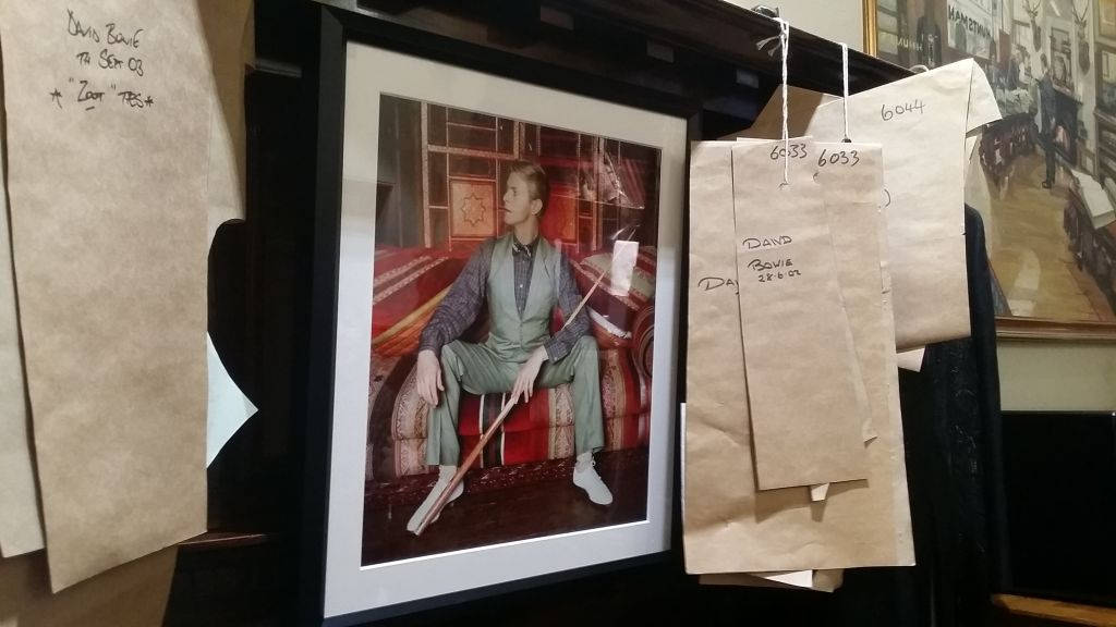 David Bowie at Huntsman