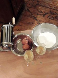 Pasta-making at Pastificio