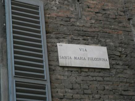 Via S.M. Fulcorina - Milano